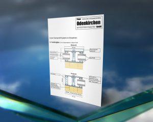 Dachprofil-System für Isolierglas