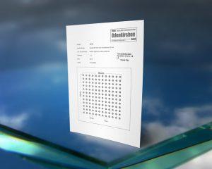 Rutschhemmender Siebdruck Standard Punkte Designs