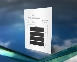 Rutschhemmender Siebdruck Standard Streifen Designs